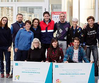Asociación Niemann-Pick de Fuenlabrada y Fundación Cris ayuda solidaria de la Fundación Mahou San Miguel