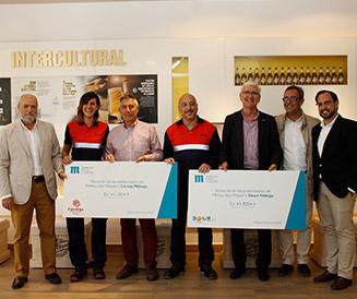 Donación Málaga Fundación Mahou San Miguel