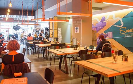SOMEWHERE Café Barcelona