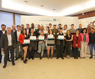 Participantes Creamos Oportunidades en Hostelera de Bilbao fin de curso