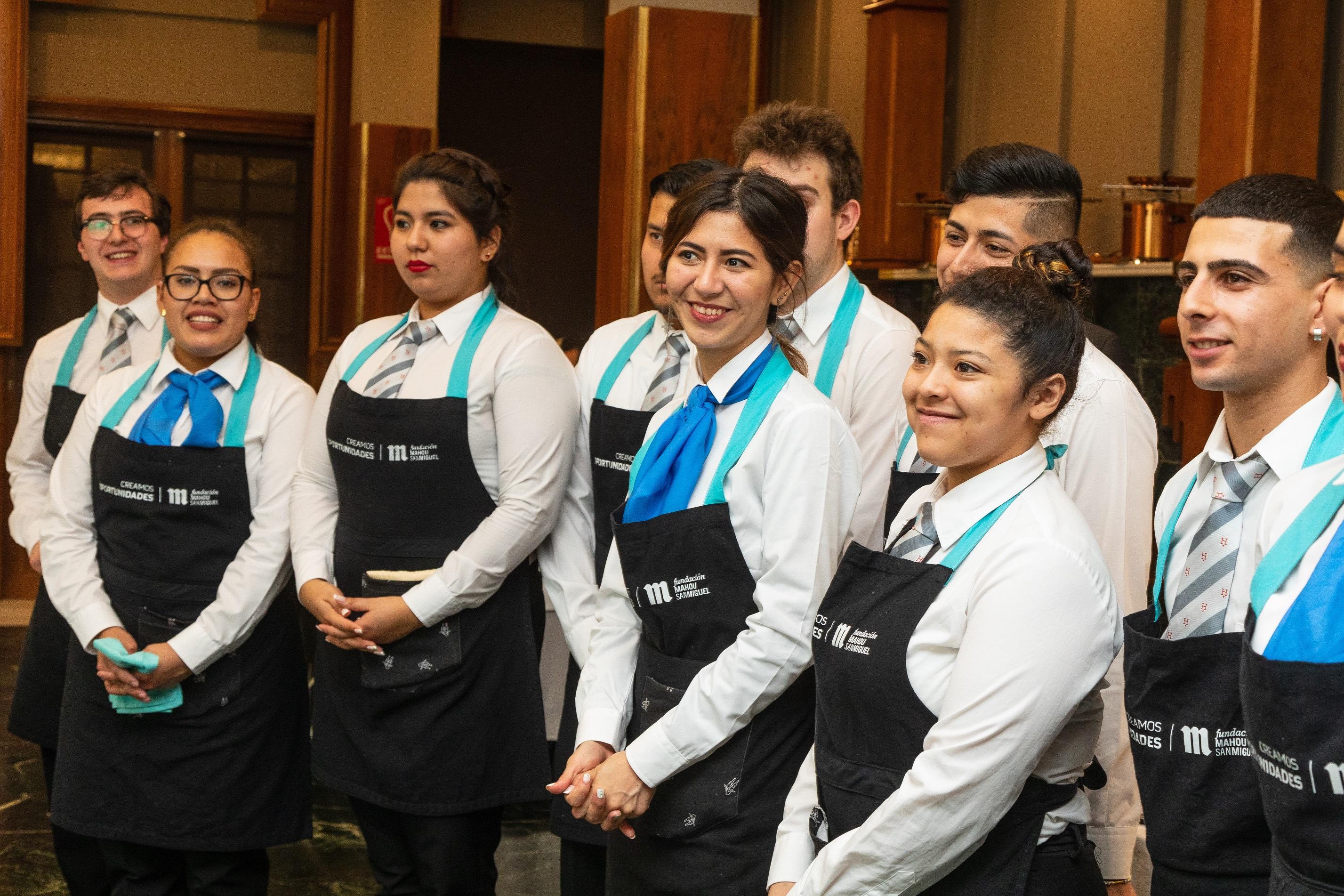 Fundación Mahou San Miguel crea el primer programa social de Dirección de Sala en colaboración con las principales escuelas y universidades de hostelería y turismo