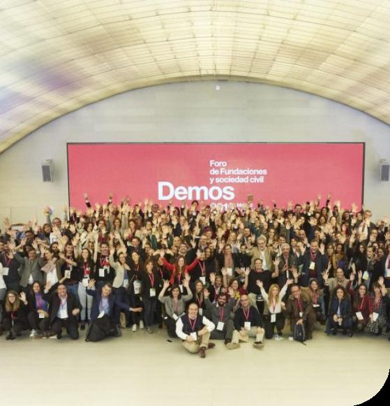 Demos 2019: Foro de Fundaciones y sociedad civil