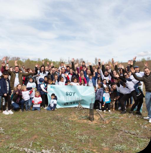Voluntariado medioambiental Fundación Mahou San Miguel